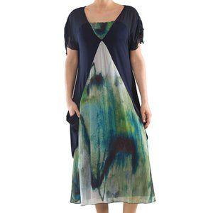 Fluid Chiffon Dress - Plus Size Collection